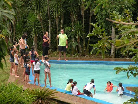 Las Alturas de Puriscal :                                     Lovely pool area!