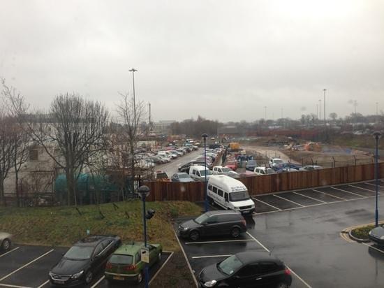 Hilton Manchester Airport: vue de la chambre