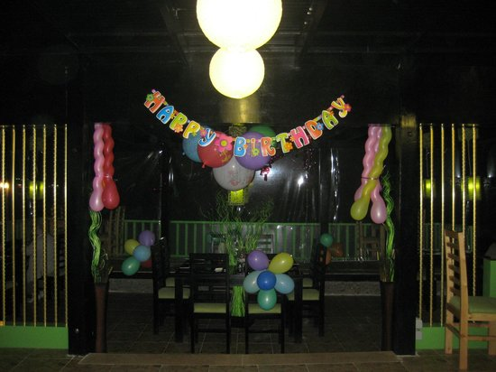 Wasabi Sushi Restaurant: We are happy to make party celebrations for you in our restaurant