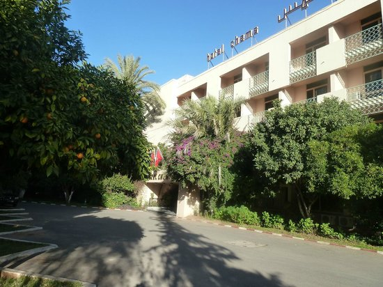Chems Hotel :                                     Hotel Exterior