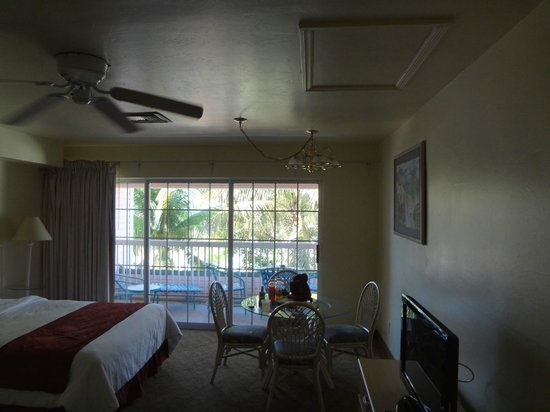The Lighthouse Resort Inn and Suites: Room - includes a nice kitchenette area (not shown)