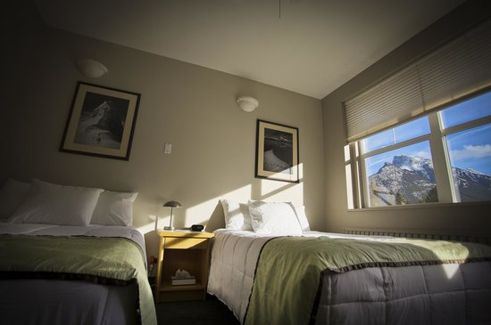 The YWCA Banff Hotel: Room 301. Our first upgraded room. NB. All rooms will be upgraded to this standard by June 2013