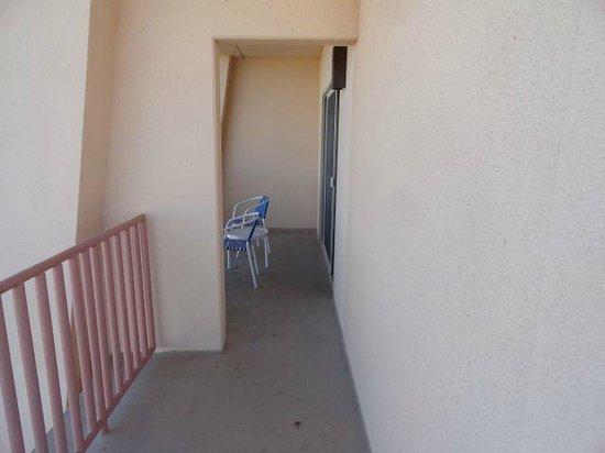 BlueWater Resort and Casino: Suite 5009 rap around balcony