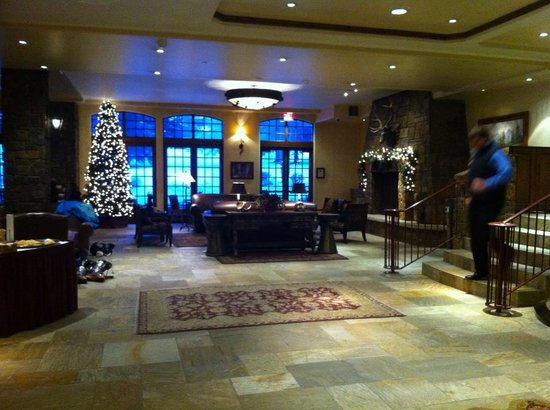 Tivoli Lodge:                   Lobby