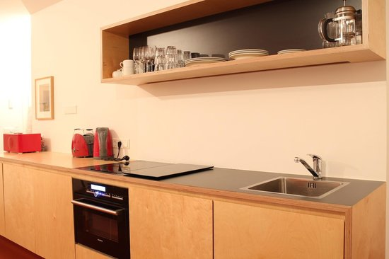 Luna Apartments:                   Cooking area