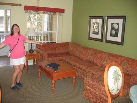 ويندام قبرص بالمز: Living room