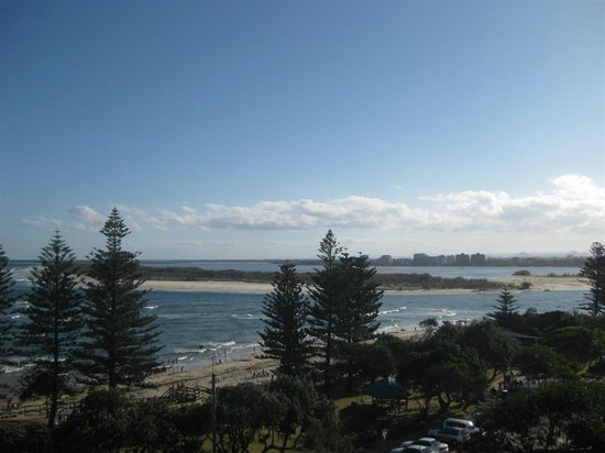 Waterview Resort:                   View of the Bribie Pumicestone Passage