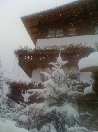 Hotel Al Sole: nevicata