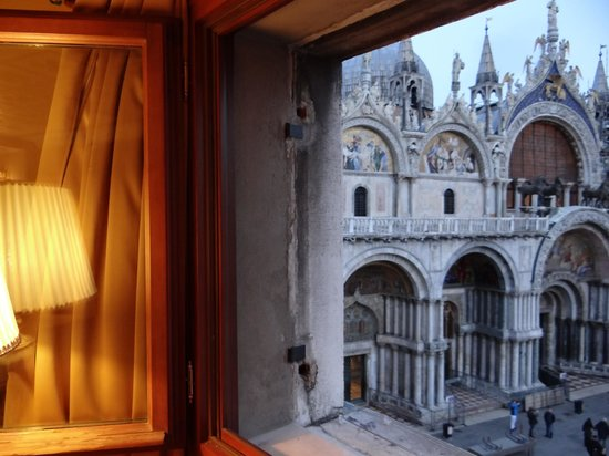 Best Windows: View of the Basilica di San Marco from the widow