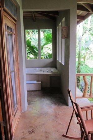 Lost Iguana Resort & Spa:                   Balcony Spa