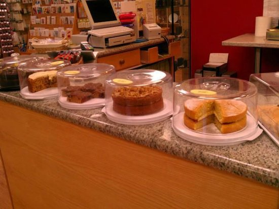Prinknash Abbey: Home-made cakes in the Monastery Cafe