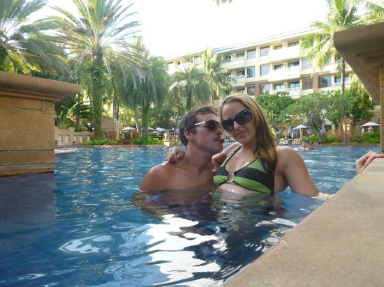 Holiday Inn Resort Phuket :                   Fun times in the pool! :D