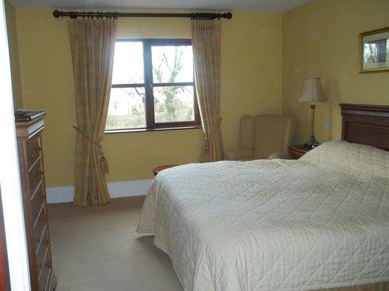 Adare Manor:                   one of three bedrooms