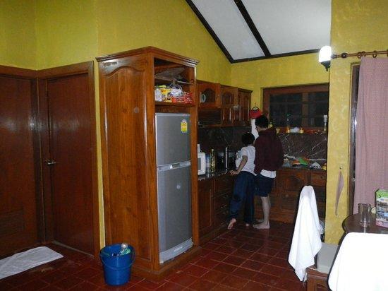 Belle Villa Resort Chiang Mai:                   our kitchen