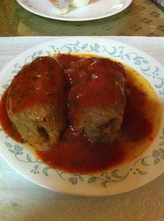 Lala's Hungarian Pastry:                   stuffed cabbage                 