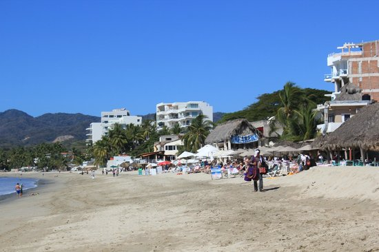 Bucerias, Mexico:                   Beach walking