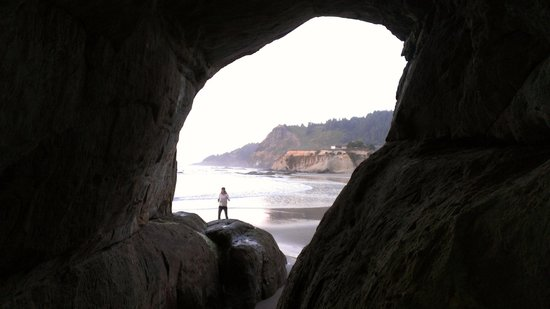 Inn at Otter Crest:                   Very cool rock formations all around the beach including the famous Devil's Pu