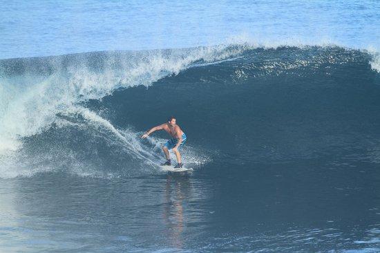 Blue Point Bay Villas & Spa:                   Surfing