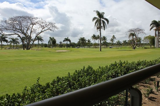 Barcelo Bavaro Beach - Adults Only: Golf course, view from 19th Hole