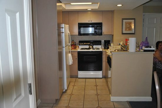 Hilton Grand Vacations on Paradise (Convention Center): Kitchen