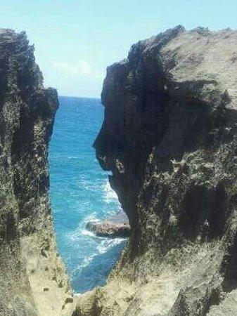 Arecibo, Puerto Rico: Aqui esta la cara del Indio!