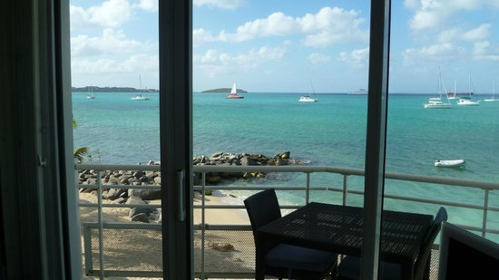 Residence Anse des Sables: From balcony