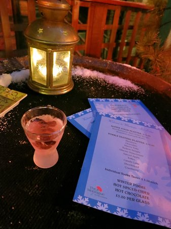 The Montague on The Gardens:                   Ski Lodge. Turkish Delight Vodka