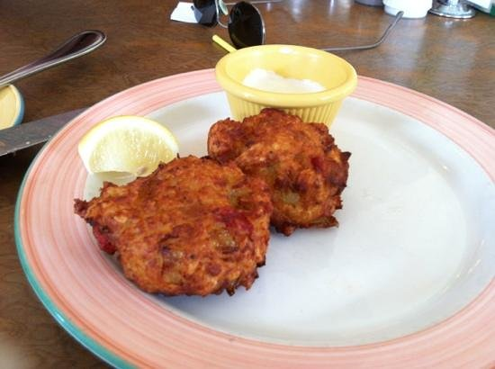The Green House : wonderful Conch Fritters