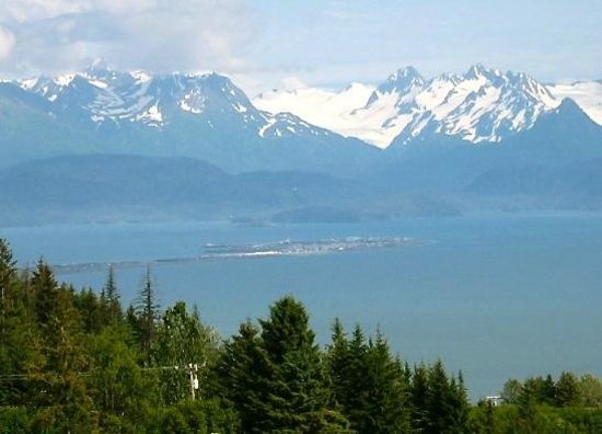 Tour with Annie!: Awesome view looking down on Homer!