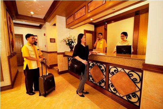Lobby, Kabayan Hotel Cubao