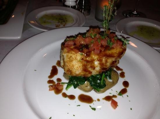 Verdi's An American Bistro: sea bass- very good