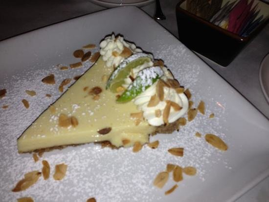 Verdi's An American Bistro: key lime tart - the best I've ever had