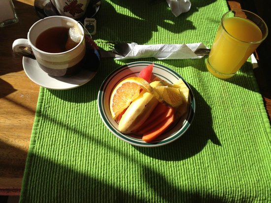 Cabinas Eddy B&B: Breakfast