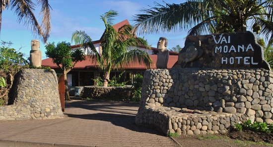 Hotel Vai Moana: ENTRADA PRINCIPAL DEL HOTEL