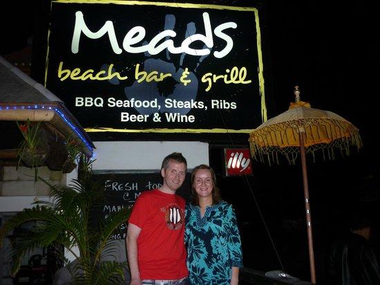 Meads Boutique Villa's Hotel : Honeymooners John & Audrey @ Meads