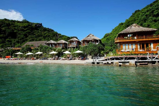 Cat Ba Island : Monkey Island Resort