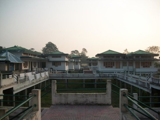 Majuli, Hindistan: side view of Prashanti resort