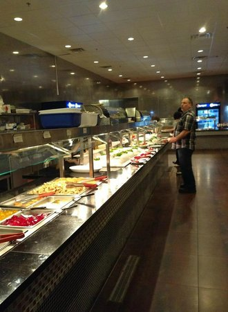 Merrillville, IN:                   One of the buffet lines