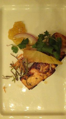 Paradisus Playa Del Carmen La Esmeralda: main course in Mexican restaurant