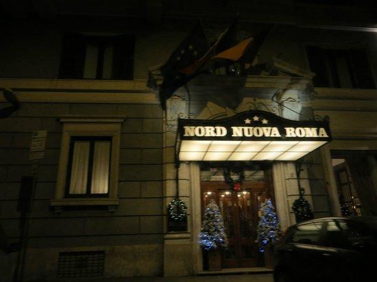 Hotel Nord Nuova Roma: Edificio del hotel
