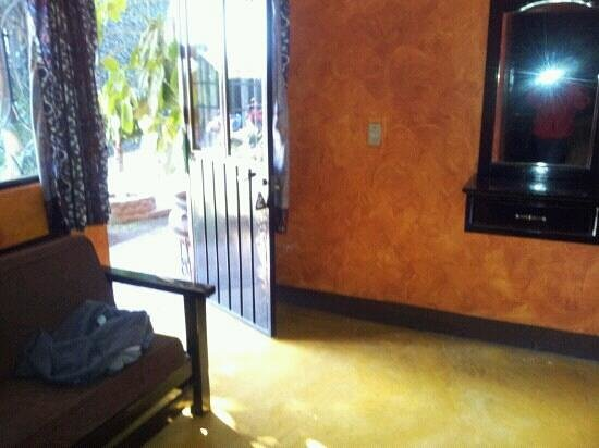 Marmil Hotel Malinalco: entrada