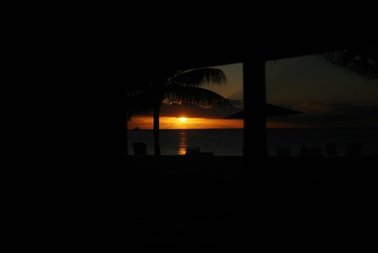 Plantana Condominiums:                   Sunset taken from inside #12