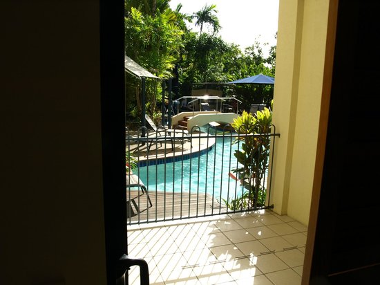 Meridian Port Douglas:                   view of pool from the room