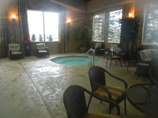 The Lodge at Jackson Hole :                   Excellent relaxing pool area