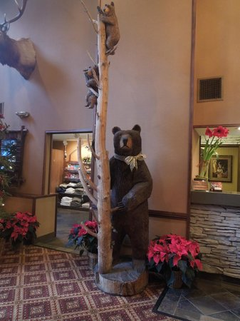 The Lodge at Jackson Hole:                   Lobby