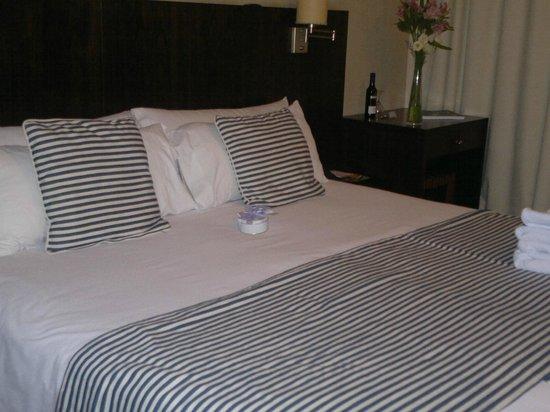 Ribera Sur Hotel: En este cuarto nos alojamos,muy bonito