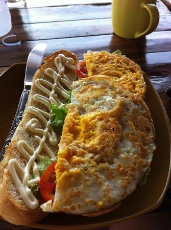 Phangan Rainbow Bungalows: gutes Essen