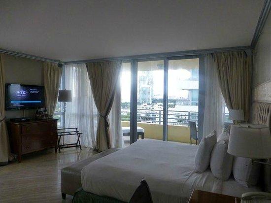 Hilton Bentley Miami/South Beach: Hotel room