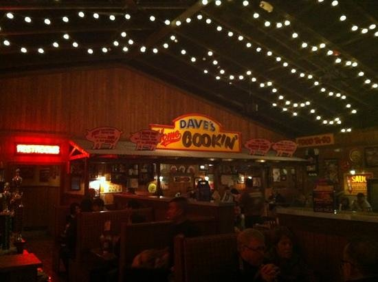 Famous Dave's: The Main Restaurant