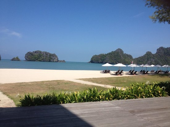 Tanjung Rhu Resort:                   View